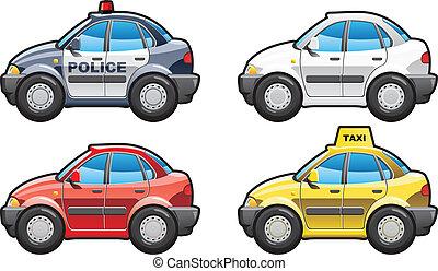 illustration of sedan - A Vector .eps 8 illustration of...