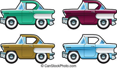 Classic Cars - 60s - part of my collections of Car body...