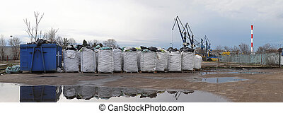 Industrial recycling