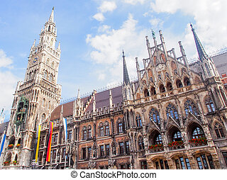 New Town Hall on Munich  - New Town Hall on Munich