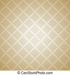 Beige cloth texture background. Vector illustration