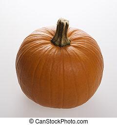 Pumpkin on white.