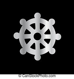 Wheel of Dharma- Symbol Buddhism