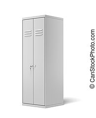 Sports Locker  isolated on a white background