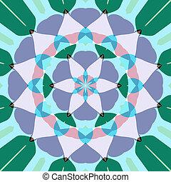 lotus, fleur, Mandala