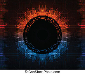futuristic background, eps10 vector