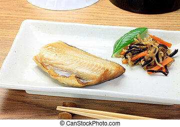 Japanese food - This is called hokke with Japanese food