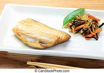 atka mackerel - This is called hokke with Japanese food.
