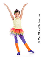 Quicky Young Dancer Girl - Young girl in Colouful cloths...