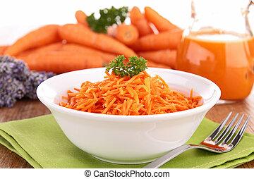 zanahoria, ensalada