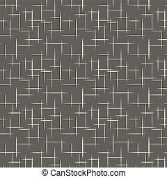 1950s Retro Style Pattern Background - Tileable and seamless...