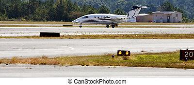 Turbo Prop Landing