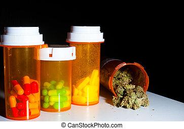 marijuana, píldoras