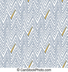 Simple seamless vector pattern with zigzag lines - Simple,...