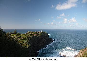 Kilauae Lighthouse off Kauai