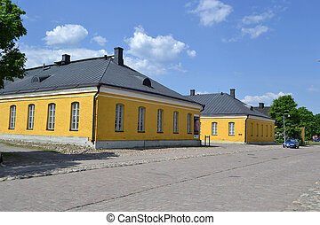 Old building in Lappeenranta, Finland - View of old building...