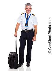 senior airline pilot