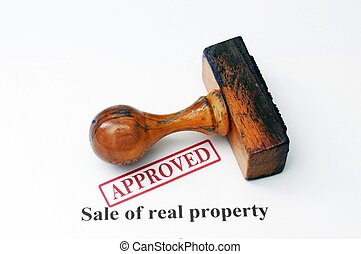 Property sale - approved