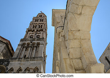 Cathedral of st Dominus, Diocletian's Palace, Split Croatia