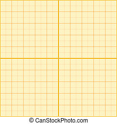 Seamless millimeter paper. Vector illustration. Graph grid...