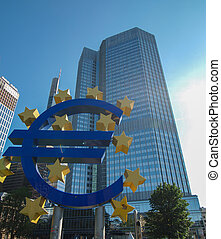 European Central Bank in Frankfurt am Main Germany