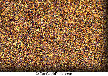 Close up of rooibos tea