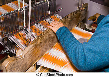 Ancient Chinese loom