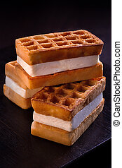 Viennese waffles