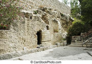 lugar, resurrección, Jesús, Cristo