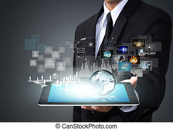 Touch screen technology - Touch screen tablet with new...