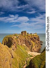 Dunnottar, castelo, Escócia