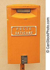 A mailbox of Poste Vaticane