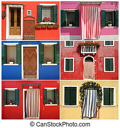 顏色,  Burano