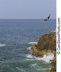 Cliff Divers of Mazatlan 2