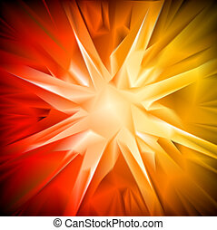 Bright abstract background. Vector