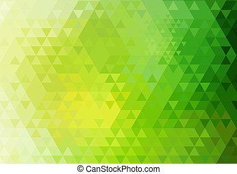 Triangle retro background.