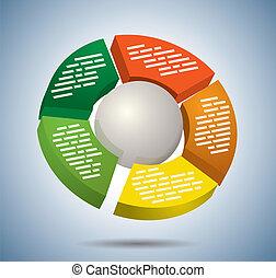 Circle multicolor graph