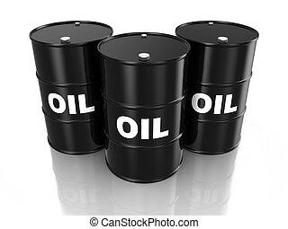 óleo, barris