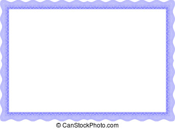Certificate Border Vector pattern that is used in currency...