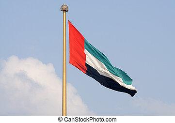 United Arab Emirates Flag - Flag of the United Arab Emirates
