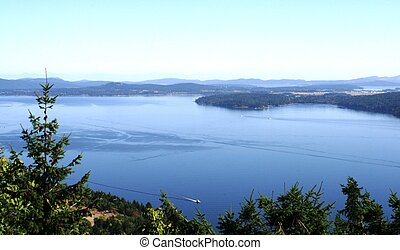Ocean view - View across to Vancouver Island