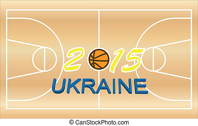 basketball theme of the upcoming events of the championship...