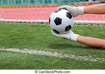 Cliping path include Goalkeeper termed goaltender,...
