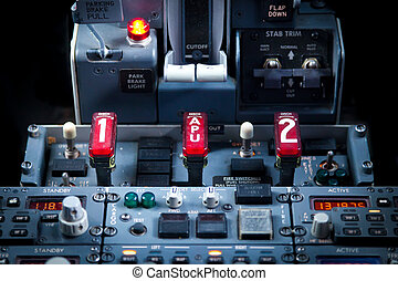 Aircraft Dashboard Panel