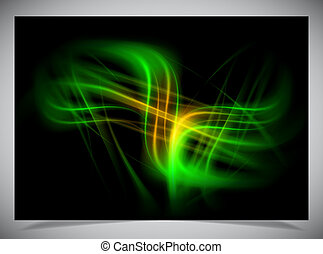 abstract glowing background - Vector illustration of...