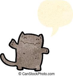 little cat cartoon