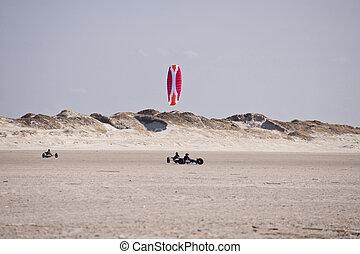 calesas, playa