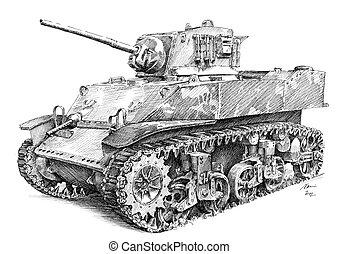 Tank - M5 Stuart