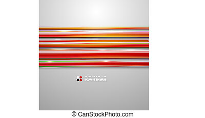 Color bright straight lines