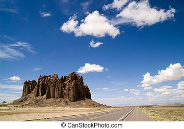 New Mexico Highway 666 - Cloudscape over New Mexico desert...